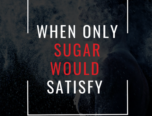 When sugar was the only treat that could satisfy…